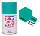 Tamiya 86054 PS-54 Cobalt Green Polycarbonate Spray Paint 100ml - US