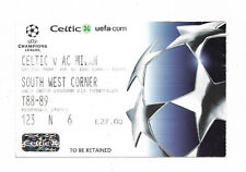 Ticket 2004/05 UEFA Champions League - CELTIC v. AC MILAN