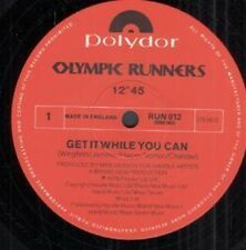 """Olympic Runners - Get It While You Can / On Ya - 1970's 12"""" Single 1978 DISCO"""