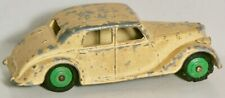 DINKY TOYS #158 CREAM RILEY SALOON GREEN HUBS MADE IN ENGLAND BY MECCANO 1947