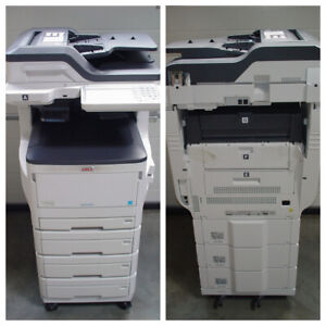 Abholung, Klappe defekt OKI ES8473dnv MFP A3 Drucker Scanner Fax Kopierer -0