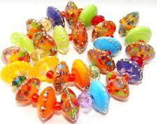 """Sistersbeads """"P-Jalepeno"""" Handmade Lampwork Beads"""