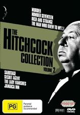 The Hitchcock Collection : Vol 2 (DVD, 2007, 3-Disc Set) Region 4