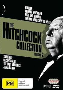 The Hitchcock Collection : Vol 2 (DVD, 2007, 3-Disc Set)