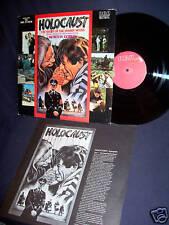 HOLOCAUST TV 1978 SOUNDTRACK VINYL LP RARE! INSERT! RED SEAL N MINT