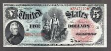 "FR.#64 1869 $5 LEGAL TENDER "" RAINBOW "" ABOUT UNCIR. TO CHOICE UNCIRCULATED."