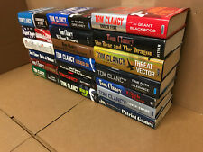 Lot of 10 TOM CLANCY JACK RYAN NET FORCE OP CENTER NET FORCE HARDCOVER*RANDOM