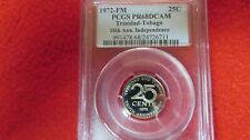 1972 fm Trinidad Tobago 10th Anniversary Independence Population of 1 25 cents
