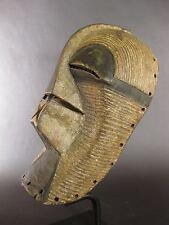 """Superbe masque kifwebe antique abstraite """"tribal utilisé Congo"""