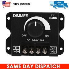 DC12V-24V 30A LED Switch Dimmer Brightness Controller for LED Strip Single Color