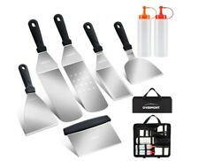 10Pcs Griddle Accessories Kit - Stainless Steel Grill Cooking Tools Set For Bbq