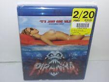 Piranha (Blu-ray, Canadian, Region A) NEW - Extras -- No Tax