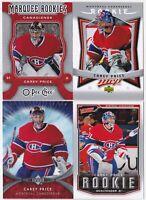 07-08 UD MVP Carey Price Rookie Canadiens 2007