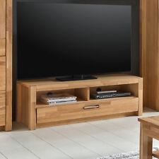 TV-Board Fenja Lowboard Unterschrank in Wildeiche massiv geölt und furniert