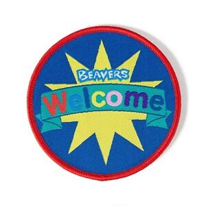 Beaver Scouts Welcome Fun Badge. OFFICIAL SUPPLIER