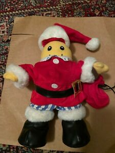 Bananas In Pyjamas - B1 plush toy, Santa Clause Christmas outfit from TV show.