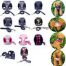 Adjustable Dog Harness Pet Puppy Lead Leash Mesh Vest Padded Non-choking Walking
