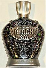DESIGNER SKIN BLACK 20X SILICONE BRONZING BODY SILK INDOOR BED TANNING LOTION