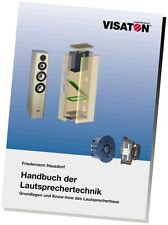 Visaton Loudspeaker Technology Handbook (German)