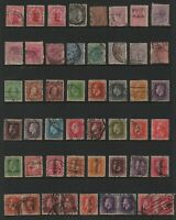 NEW ZEALAND - QV TO QE11 STAMPS (86) 1873 to 1962.