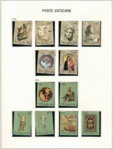 D208740 Vatican City 1983 Nice selection of MNH stamps