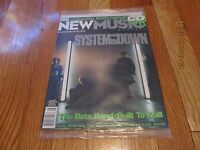 AUGUST 2001 CMJ NEW MUSIC MONTHLY MAGAZINE-SYSTEM OF A DOWN COVER #95 SEALED NEW