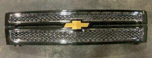 NOS 2012-2013 Chevrolet Silverado 1500 Grille *Green* 22827180