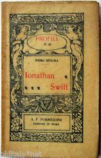1922 Piero Rebora - IONATHAN SWIFT - Profili Formiggini - n°60