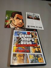 New listing Grand Theft Auto Liberty City Stories (Sony PlayStation 2) Ps2 Cib Complete Nice