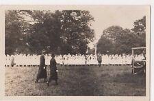 Military Nurses Parade RP Postcard, B584
