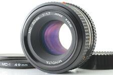 Minolta Md Rokkor 50mm f1.7 Mf Obiettivo Da Giappone