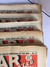 THE WAR ILLUSTRATED WWII MAGAZINE - Nos.51-100 Vol 3/4  ED. SIR JOHN HAMMERTON