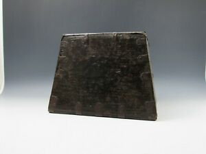 A Chinese Antique Wooden Rice Measure Square Box Dou Old Business Artisan Made