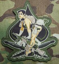 ACES HIGH USA ARMY MORALE MILITARY COMBAT US ISAF MULTICAM HOOK & LOOP PATCH