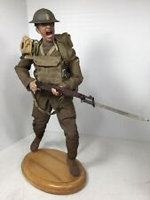 1/6 DID CUSTOM WW1 US DOUGHBOY CHARGING 1903 SPRINGFIELD STAND DRAGON BBI 1917