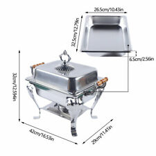 Catering Classic Stainless Steel Chafer Chafing Dish Set Tray Buffet Half Size