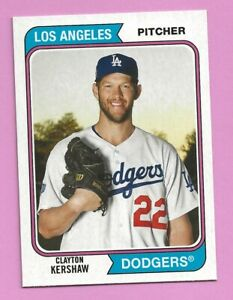 2020 Topps Archives Clayton Kershaw #156 Los Angeles Dodgers
