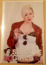 SUICIDE GIRLS # 3. Photo Variant Cover. 2011. IDW. N/M. Steve Niles.