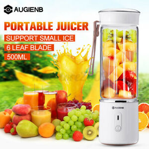 Portable Personal Blender Juicer Bottle Smoothie Mixer USB Rechargeable