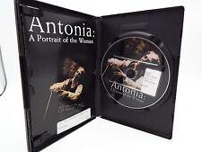 Antonia: A Portrait of the Woman (DVD, 2003) Oscar nom best documentary  Ex-libr