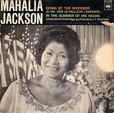 "45 T SP MAHALIA JACKSON  ""DOWN BY THE RIVERSIDE"""