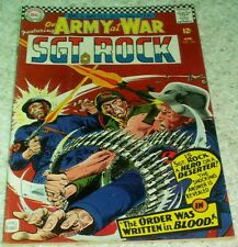 Our Army at War 166, VF- (7.5) 1966, 40% off Guide!