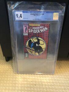 Spiderman 300 CGC 9.4 Venom Todd McFarlane