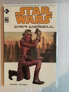 STAR WARS ZAM WESELL FIRST PRINT LUCAS BOOKS
