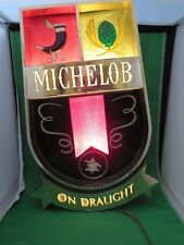 MICHELOB BEER ON DRAUGHT BAR LIGHT