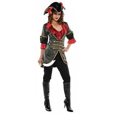 Pirate Jacket Costume Halloween Fancy Dress