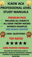 ICAEW ACA Professional Level Study Manuals Download