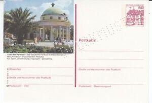 P 138  Serie l  Burgen & Schlösser  Bildpostkarte  Druckmuster Bad Pyrmont  **
