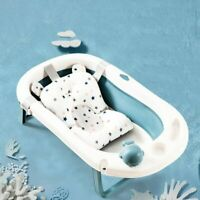 2020 Top Baby Bath Tub Mat Non-slip Seat Support Cushion Safe Bathing Foldable