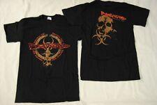 Biohazard Bio Skull T Shirt NEU Official Band Zustand der Welt Adresse selten